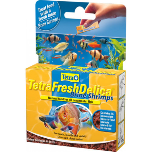 Tetra Fresh Delica Brine Shrimps 16x3g
