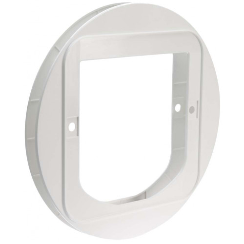 SureFlap Glass Mounting Adaptor White