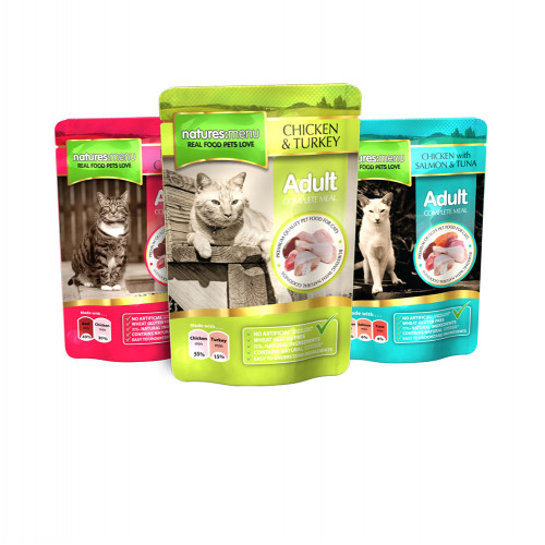 Natures Menu Cat Meal Multipack 48 Pack 100g