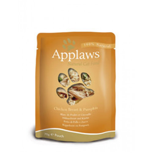 Applaws Chicken Breast & Pumpkin 70g Pouch