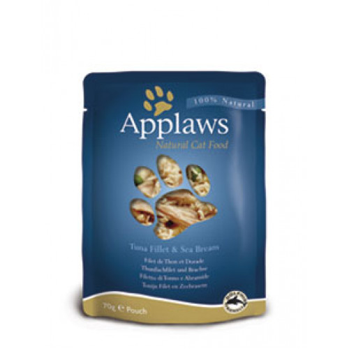 Applaws Tuna Fillet & Sea Bream 70g Pouch