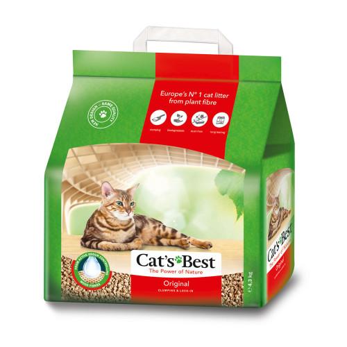 Cat's Best Original Cat Litter 10 Litre 4.3kg