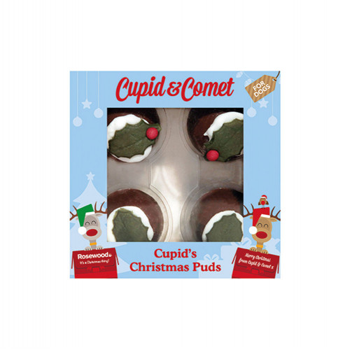 Cupid's Christmas Puds For Dogs