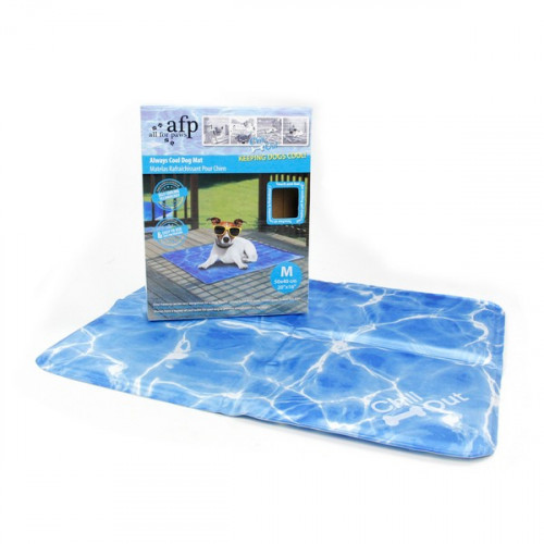 All For Paws Chill Out Always Cool Dog Mat Medium 50x40x1cm