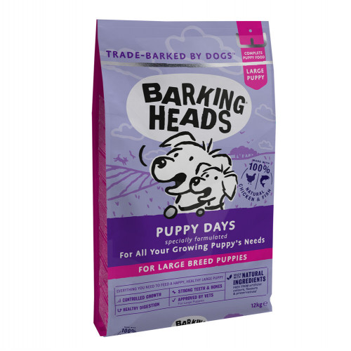 Barking Heads Large Breed Puppy Days 12kg