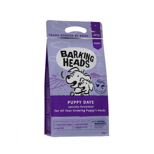 NEW Barking Heads Puppy Days Grain Free Chicken 2kg