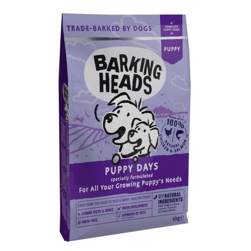 NEW Barking Heads Puppy Days Grain Free Chicken 6kg