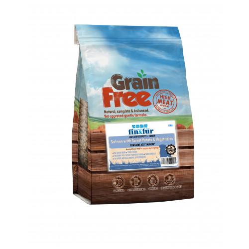 Fin & Fur Grain Free Large Breed Puppy/Junior Salmon & Sweet Potato 12kg