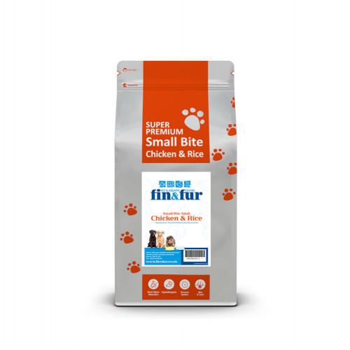 Fin & Fur Super Premium Chicken & Rice Adult Mini 6kg