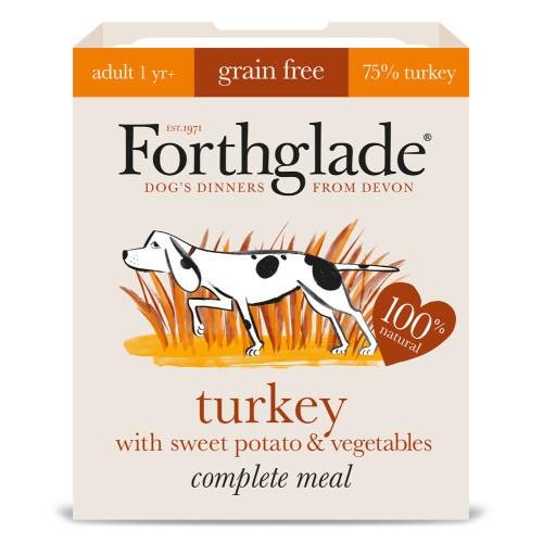 Forthglade Complete Turkey, Sweet Potato & Veg 395g