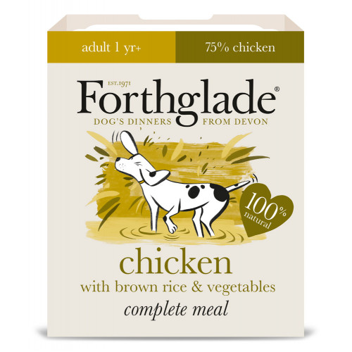 Forthglade Complete Chicken with Brown Rice & Veg 395g