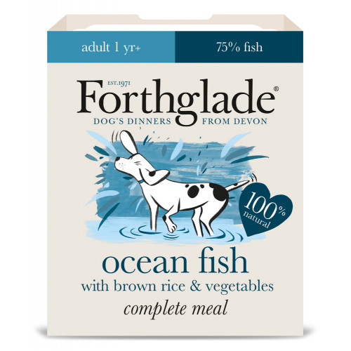 Forthglade Complete Ocean Fish with Brown Rice & Vegetables 395g