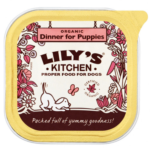 Lily's Kitchen Organic Dinner For Puppies 150g