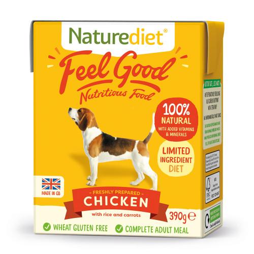 Naturediet Feel Good Chicken 390g