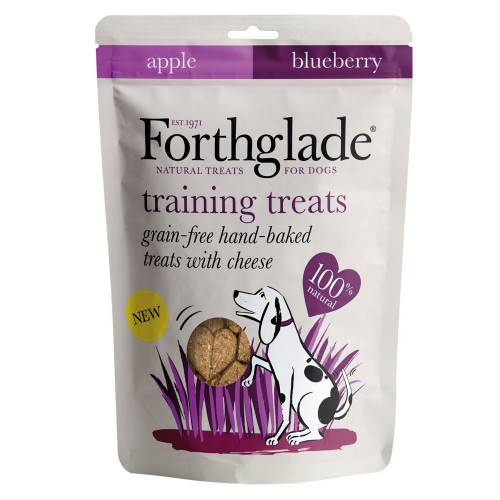 Forthglade Training Treats With Cheese, Apple & Blueberry 150g