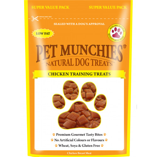 Pet Munchies Dog Training Treats Chicken 150g
