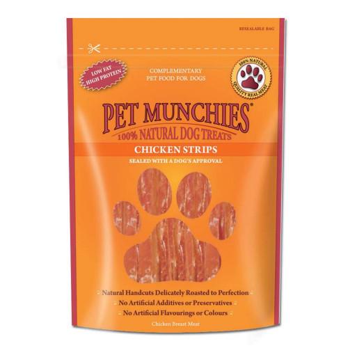 Pet Munchies Chicken Strips 90g