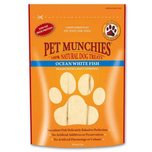 Pet Munchies Ocean White Fish 100g