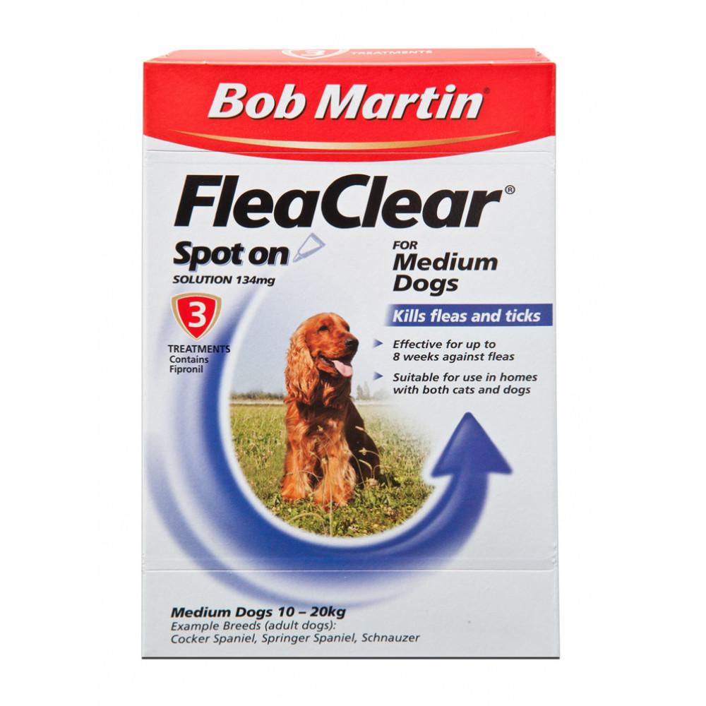 Bob Martin Flea And Tick Spot On Treatment Medium Dogs