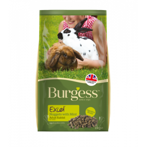 Burgess Supa Rabbit Excel 4kg