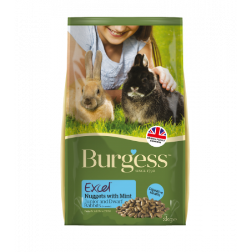 Burgess Supa Rabbit Excel Junior & Dwarf 2kg